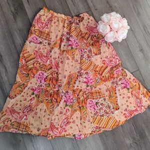 Dresses & Skirts - Long cotton skirt with lining